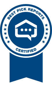 Best Pick Reports Certification Badge